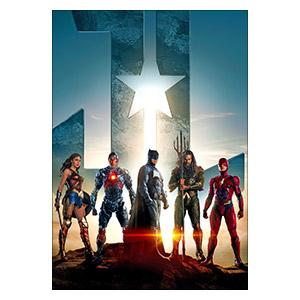 Justice League. Размер: 35 х 50 см